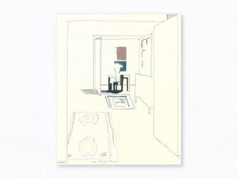 「ラグのある、リビングルーム」の画像