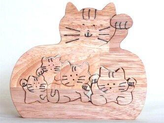 招き猫(切抜き)の画像