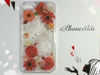 iPhone5/5s用ケース バレンタイン風の画像