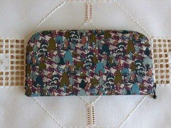 長財布(リバティ社タナローン使用)グレーテルの画像