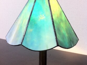 ステンドグラス ランプの画像