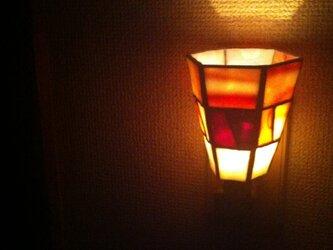 ステンドグラス フットライトの画像