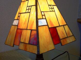 ステンドグラス ランプ squareの画像