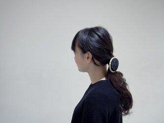 CIRCLE hairelastic【L】BK leopard 【 受注生産 】の画像