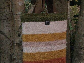 NAGAOの裂織り手さげの画像