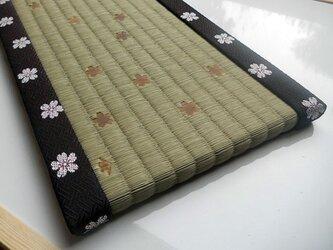 装飾ミニ畳 桜舞の画像