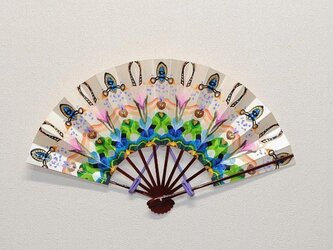 飾り扇「カレイドスコープ」 値下げの画像