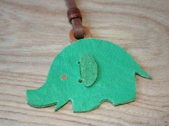 キーホルダー ゾウの画像