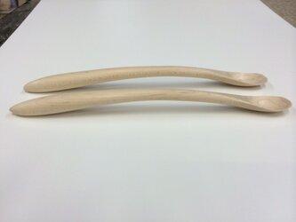 離乳食スプーン、大人サイズの画像