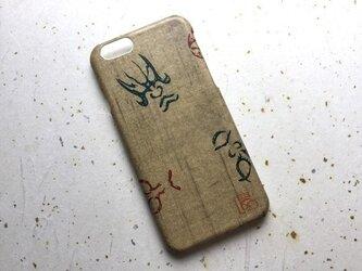 友禅和紙iPhone6カバー[隈取]の画像