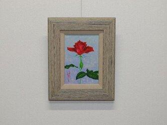 日本画 「薔薇」の画像