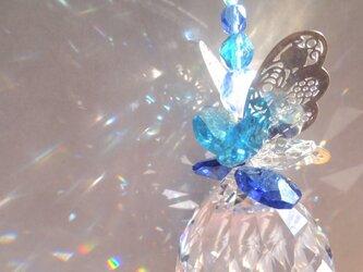 サンキャッチャー☀ バタフライ☆ ブルーの画像