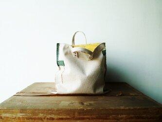 らくがきみたいなぼろバッグの画像