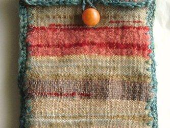 手織小物入れの画像