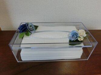 フラワー雑貨<ホテル用ティッシュボックス>の画像