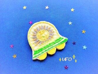 テネリフレースのUFOブローチの画像