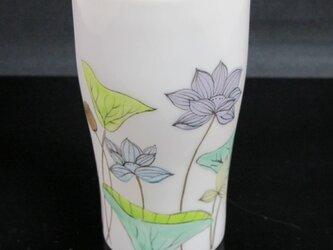 蓮のビアカップの画像
