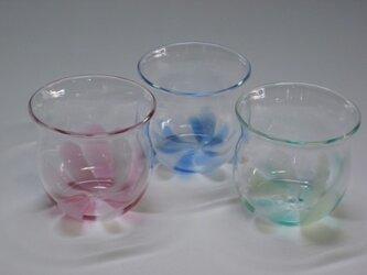 グラス「睡蓮」の画像
