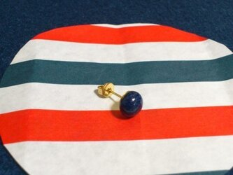 濃紺ピアス(片耳用)の画像