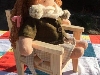 お人形の椅子(オーダー対応品)の画像