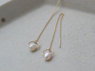 ibitsu  ピアス  (K10/pearl)の画像