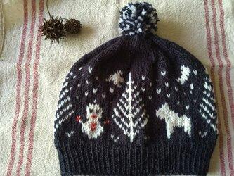 北欧の森  とんがり帽子の画像