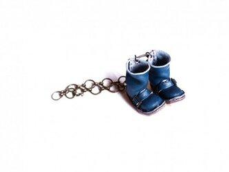 ミニチュアブーツバッグチャームの画像