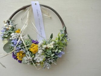 hanging basket wreath.esの画像