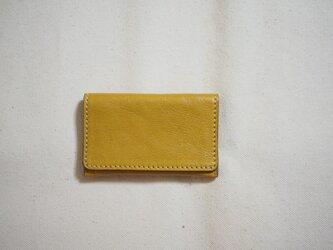 コンパクト名刺 カードケース / イエローの画像