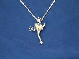 カエル SILVER925ペンダント ネックレスの画像