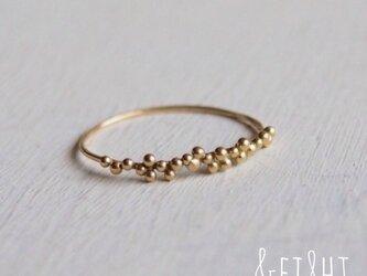 【再販】K18 tsubu ringの画像