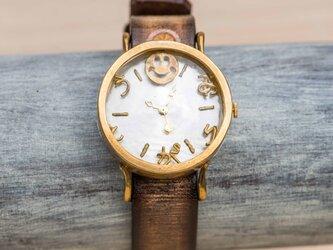 ありがとう腕時計Mクリアの画像