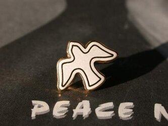 『 Bird of Peace 』ピン col. ベージュの画像