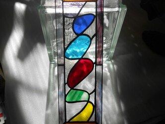 ステンドグラスミニパネル*多色*の画像