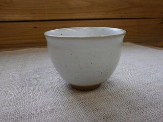 白マット釉 多用カップの画像