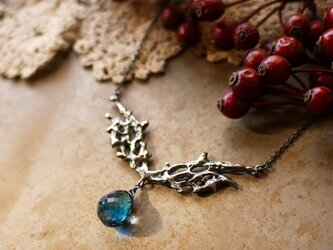 【Lyudmila -Blue Topaz】necklaceの画像