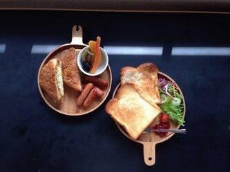 パン皿 ミズナラの画像