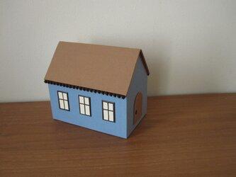 ハウス型ボックスの画像