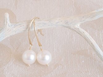 K10 Swing Pearl Earringsの画像