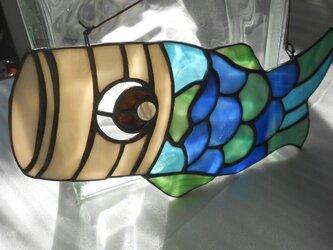 ステンドグラスのこいのぼりの画像