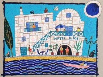 エーゲ海のプチホテルの画像