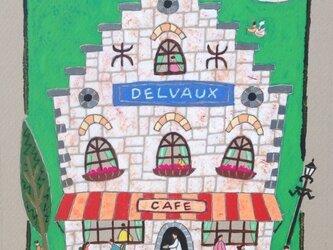 フランドルのカフェ「デルヴォー」の画像