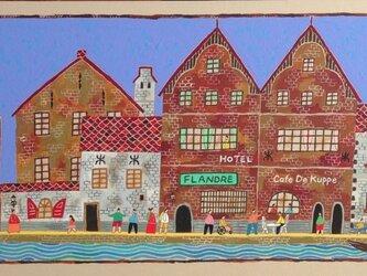 ブリュージュ 運河の町の画像