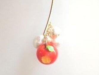 蜜りんごイヤーフック Snow Whiteの画像