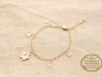 桜ブレスレット WJG_B002の画像
