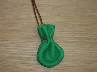 お守り袋 緑の画像