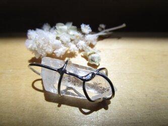 水晶ペンダントヘッドの画像