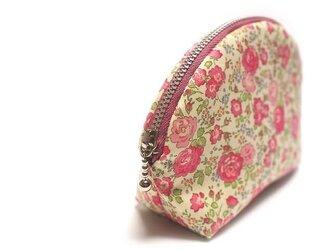 ラウンドポーチ LIBERTY Felicite - pink -の画像