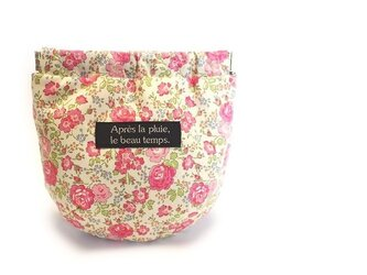 ドロップポーチ LIBERTY Felicite - pink-の画像