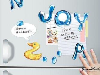 ABCマグネット『The Aqua Font』の画像